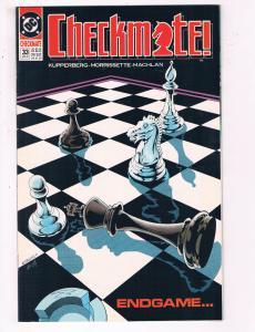 Checkmate #33 VF DC Comics Comic Book Kupperberg DE22