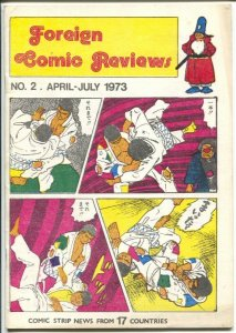 Foreign Comics Review #2 1973-Danish publication-TinTin-Rolf Gohs-FN