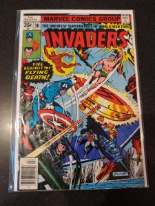 THE INVADERS #30 BRONZE AGE HIGH GRADE VF/NM