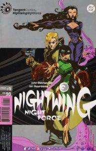 Tangent Comics Nightwing: Night Force #1, NM- (Stock photo)