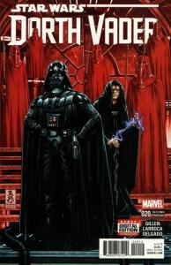 Star Wars Darth Vader #20 2nd Printing Variant (Marvel, 2016) NM