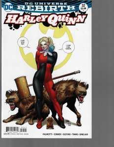 Harley Quinn #32B (DC, 2018) NM- Cho Variant