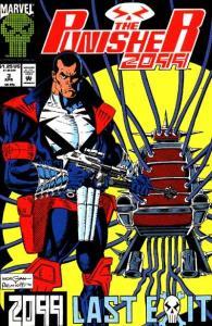 Punisher 2099 (1993 series) #3, NM- (Stock photo)