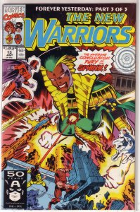 New Warriors   vol. 1   #13 VF/NM (Forever Yesterday 3)