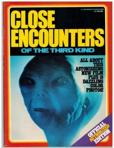 CLOSE ENCOUNTERS OF THE 3RD KIND 1977 WARREN VF OFFICIA