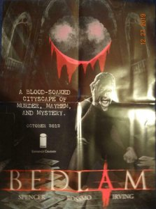 BEDLAM Promo Poster, 18 x 24, 2012, IMAGE Unused more in our store 424