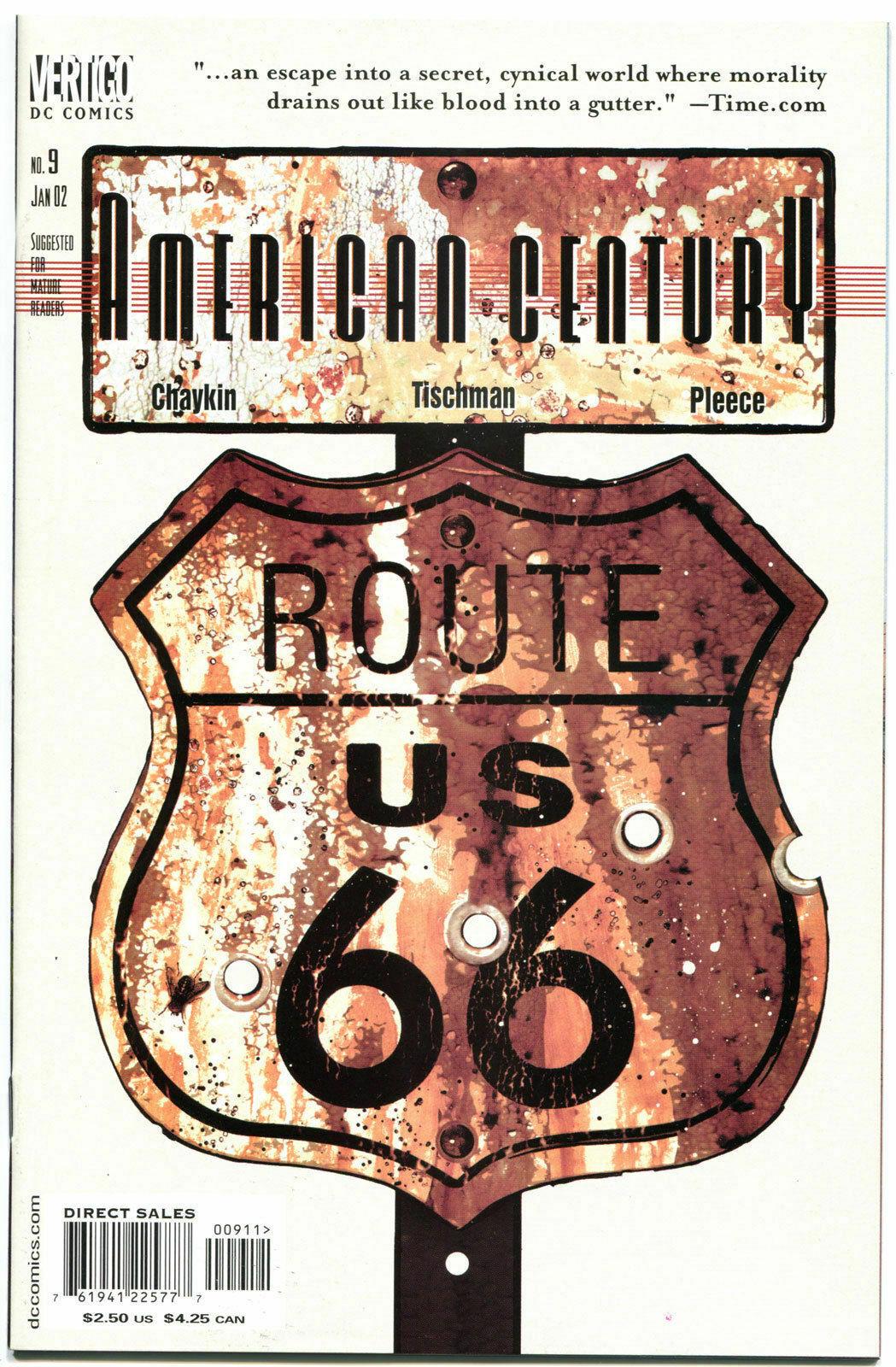 AMERICAN CENTURY #9, NM+, Howard Chaykin, 2001, more Vertigo in store    Comic Books - Modern Age / HipComic