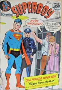 Superboy #177 DC Bronze Age Comics 1971 G+ Superman