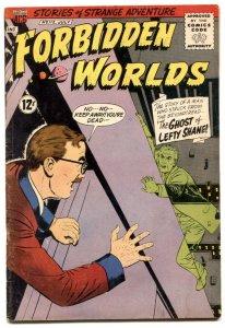 Forbidden Worlds #112 1963- Ghost of Lefty Shane G/VG