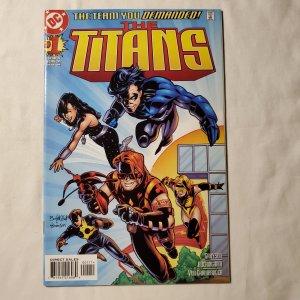 Titans 1  Near Mint- Covers by Buckingham & Von Grawbadger