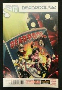 Deadpool Vol. 3 #32 Original Sin Tie-In Cover A VF/NM-