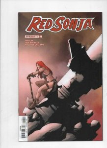 RED SONJA #24 A, VF, She-Devil, Vol 4, McKone, 2018, more RS in store