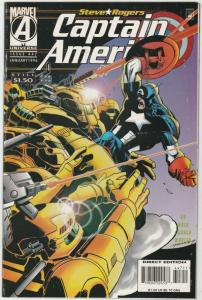 Captain America #447 (Jan-96) NM- High-Grade Captain America