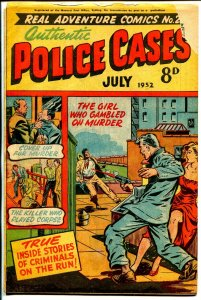 Real Adventure #29 1952-Matt Baker-pre-code violent crime-Australian-G/VG