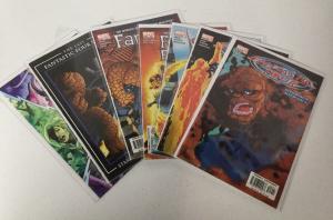 Fantastic Four 506 - 510, 587 Last Story NM Near Mint Marvel A43