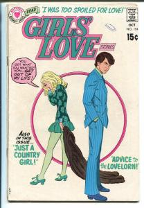 Girls' Love Stories #154 1970-DC-striking cover-VG