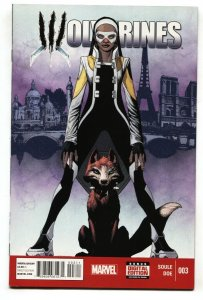 Wolverines #3  First FANTOMELLE and CULPEPPER NM-
