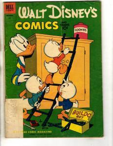Walt Disney's Comics & Stories # 147 VG/FN Dell Golden Age Comic Book 1952 BE1