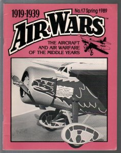 Air Wars #17  Spring 1989-Aircraft & air warfare of the middle years 1919-1939-F