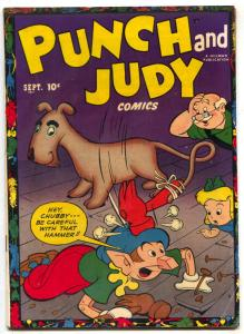 Punch and Judy Vol. 3 #3 1951- Golden Age Humor VG+