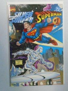 Silver Surfer Superman #1 8.0 VF (1996)