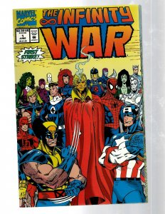 WAR The INFINITY WAR Marvel Comics LTD Series Complete # 1 2 3 4 5 6 Avenger RB8