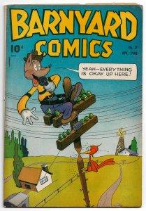 Barnyard Comics #17 (April 1948) - Frazetta illos! • Bradbury, Champin & More!