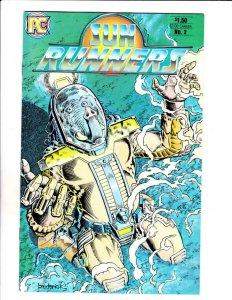 SUN RUNNERS #2, NM-, Broderick, Pacific Comics, 1984  more Indies in store