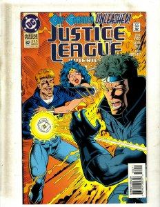 Lot of 12 JLA DC Comic Books #82 83 84 85 86 87 88 89 90 91 92 93 SB4