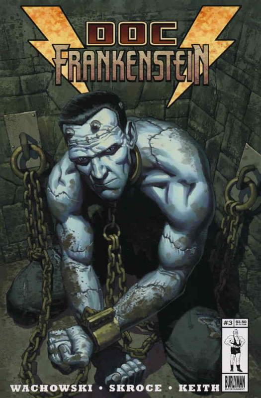 Doc Frankenstein #3 VF/NM; Burlyman | combined shipping available - details insi