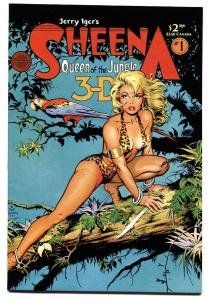 Sheena Queen of The Jungle 3-D #1 1985-Blackthorn-Dave Stevens-1st issue-NM-