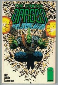 The Savage Dragon TPB #1 VF green logo variant - Image comics - collects #1-3