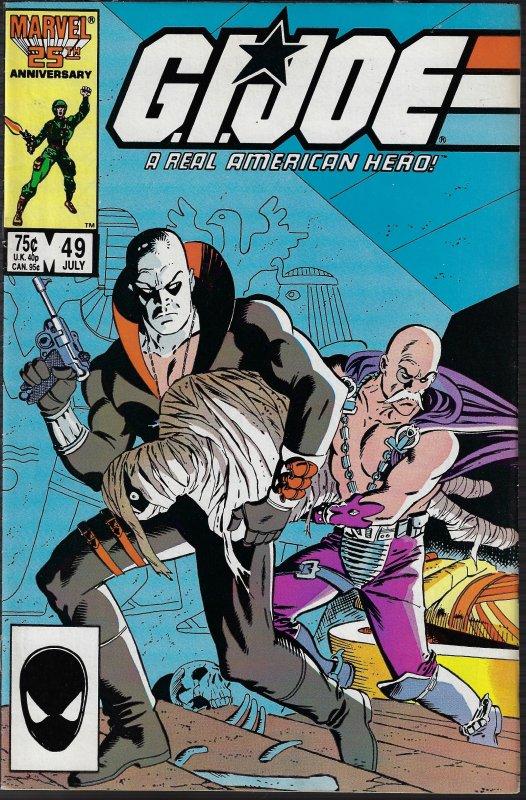 GI Joe, A Real American Hero #49 (Marvel, 1986) VF/NM