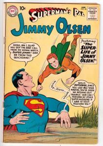 Jimmy Olsen, Superman's Pal  #50 (Jan-61) FN/VF+ High-Grade Jimmy Olsen