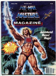 He-Man and the Masters of the Universe Magazine #1 -- 1985-First issue