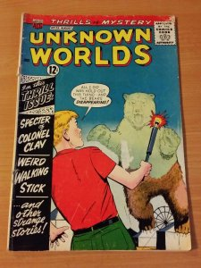 Unknown Worlds #25 ~ GOOD - VERY GOOD VG ~ (1963, American Comics Group)