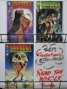 VAMPIRELLA DEATH & DESTRUCTION (1996 H) 1-3  complete!