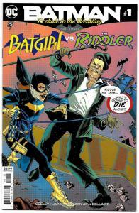 Batman Prelude to the Wedding Batgirl vs Riddler #1 (DC, 2018) NM