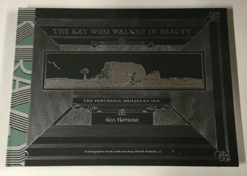 The Kat That Walked In Beauty Panoramic Dailies Of 1920 Fantagraphics Hc B18