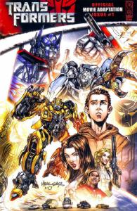 Transformers: Movie Adaptation #1 VF/NM; IDW | save on shipping - details inside
