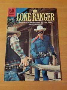 The Lone Ranger #132 ~ VERY GOOD - FINE FN ~ (1959, DELL Comics)