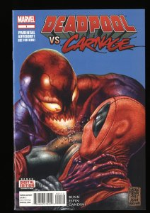 Deadpool Vs. Carnage #1 VF/NM 9.0 2nd Print