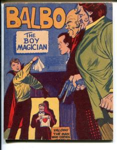 Mighty Midget #12 1943-Balbo Boy Magician-1st starring book-VF/NM