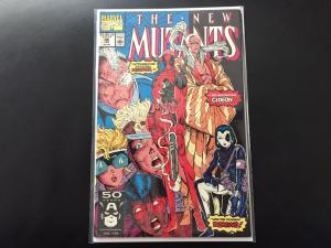 New Mutants 98- First Deadpool