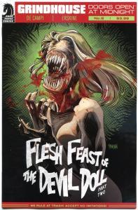 GRINDHOUSE #8, NM, Flesh Feast of the Devil Doll, Femme Fatales, 2013,Dark Horse