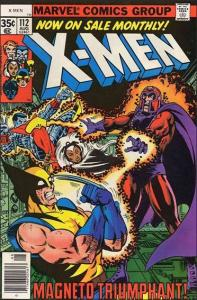 Marvel THE X-MEN (1963 Series) #112 VF