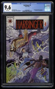 Harbinger #0 CGC NM+ 9.6 White Pages