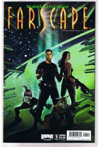 FARSCAPE #1  B, NM-, John Crichton, Aeryn Sun, Sci-Fi, 2008, more in store