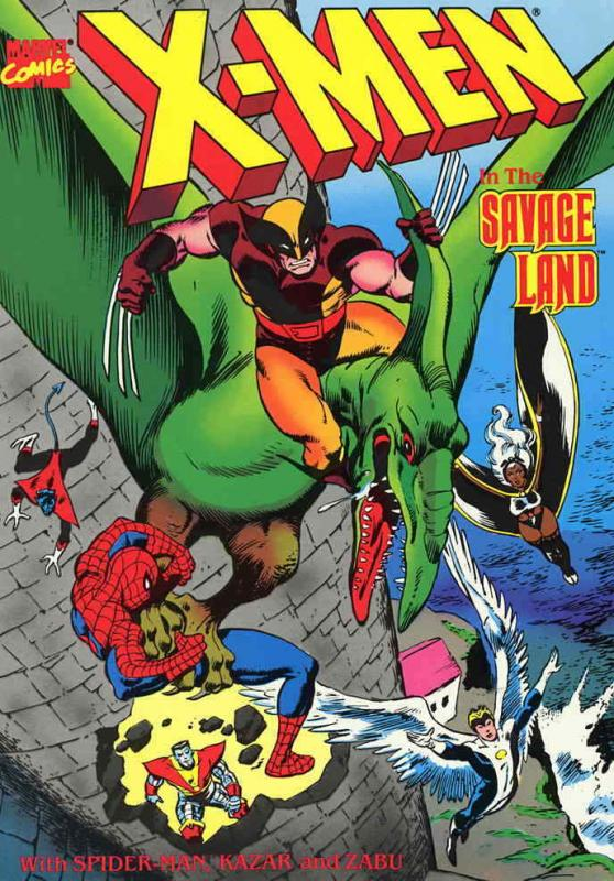 X-Men in the Savage Land #1 VF/NM; Marvel | save on shipping - details inside