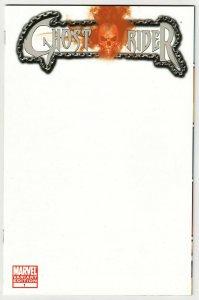 Ghost Rider #1 Blank Sketch Variant Cvr (Marvel, 2011) NM
